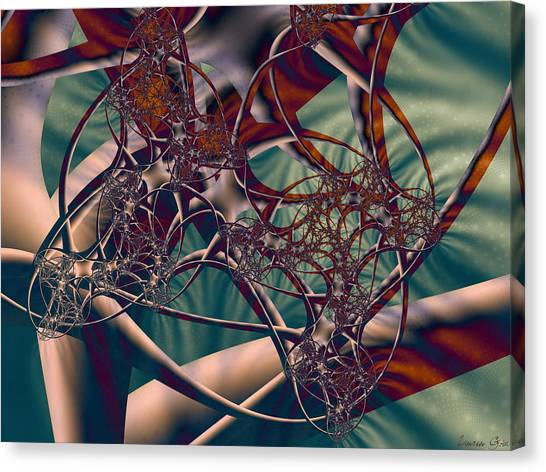 Imagery Canvas Print - Neuro Imagery by Lauren Goia