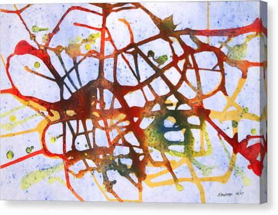 Neuron Canvas Print