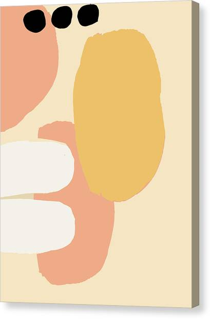 Neutral Abstract Canvas Print