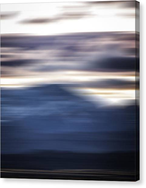 Nevada Blur #1 Canvas Print by Rob Worx