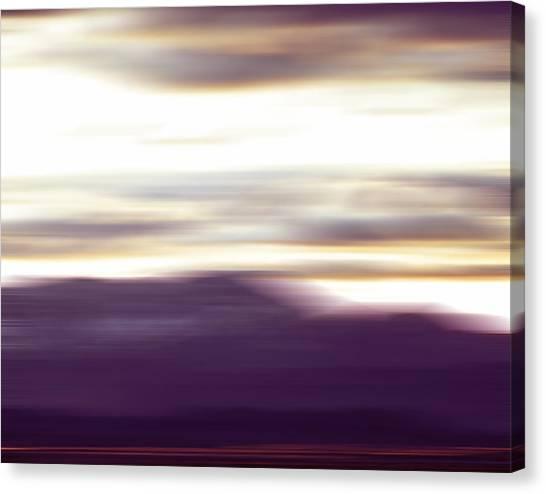Nevada Blur #2 Canvas Print by Rob Worx