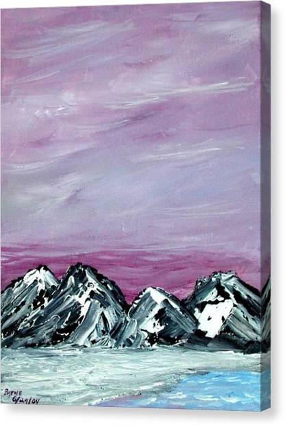 Nevada Sky Canvas Print by Margie  Byrne