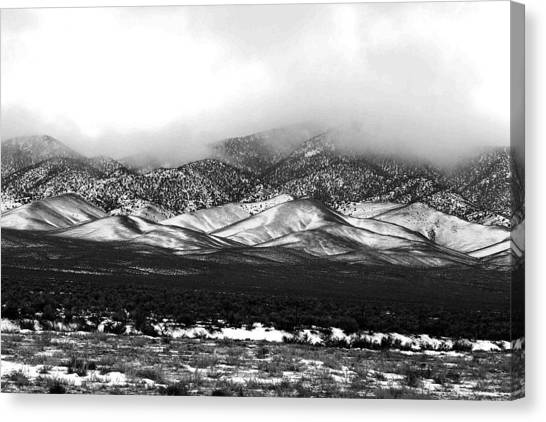 Nevada Snow Canvas Print