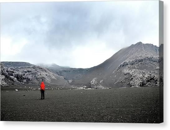 Nevado Del Ruiz Canvas Print - Nevado Del Ruiz by Desislava Antonova