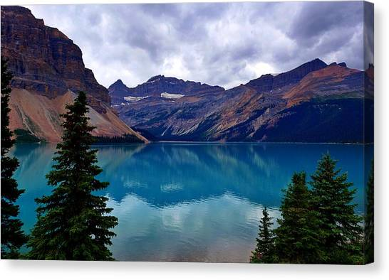 Bow Lake, Banff, Ab  Canvas Print