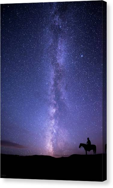 Never Stop Looking Up Canvas Print