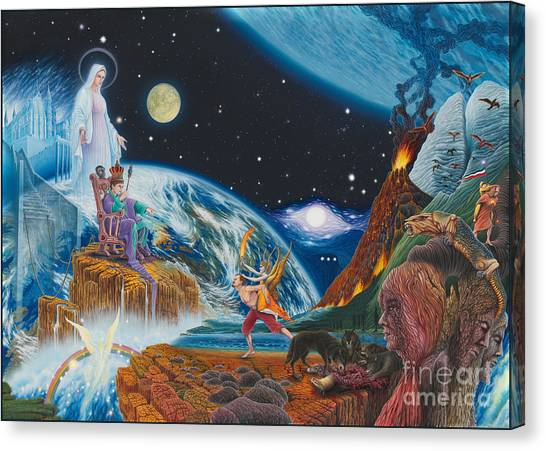 New Age  Canvas Print