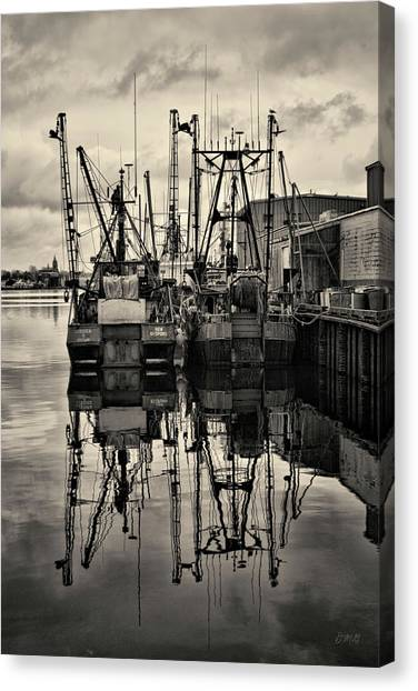 New Bedford Waterfront No. 1 Canvas Print