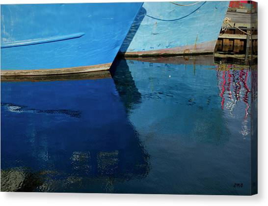 New Bedford Waterfront X Canvas Print