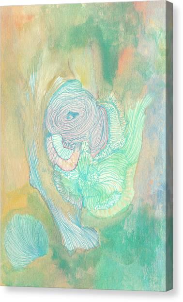 New Born - #ss18dw017 Canvas Print by Satomi Sugimoto