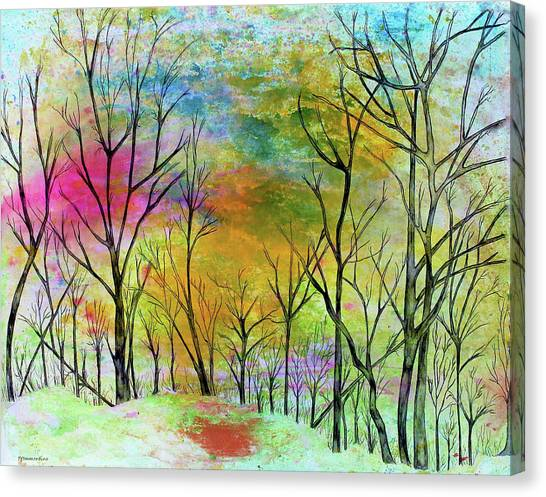 New Dawn New Day New Life Canvas Print
