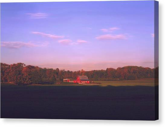 New Day Dawning Canvas Print