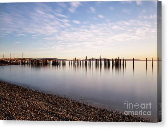 New Day In The Bay Canvas Print