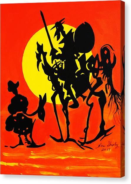 New Don Quixote Canvas Print