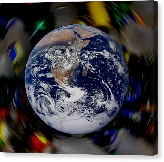 New Earth Canvas Print