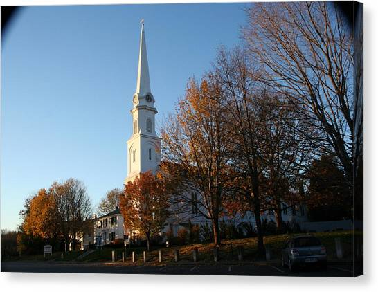 New England Canvas Print