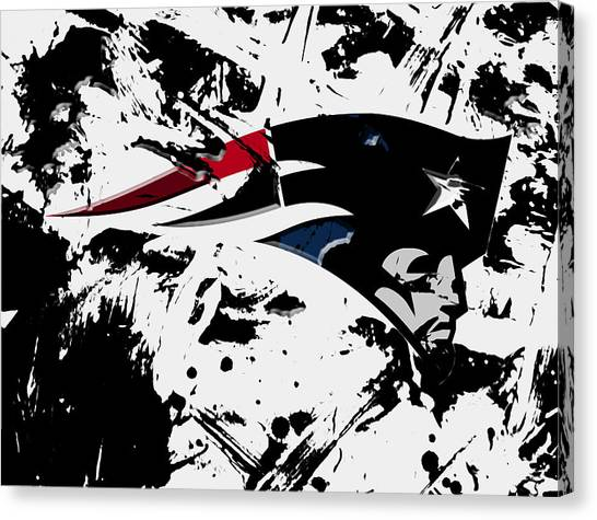 Jacksonville Jaguars Canvas Print - New England Patriots 1d by Brian Reaves