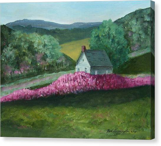 New England Spring Canvas Print