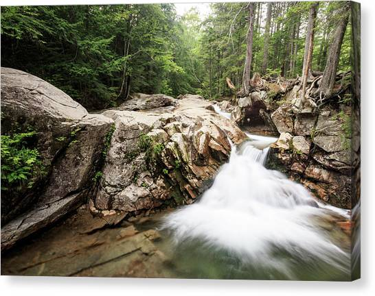 New England Waterfall Canvas Print
