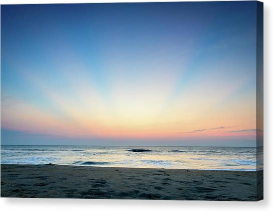 New Horizon Canvas Print