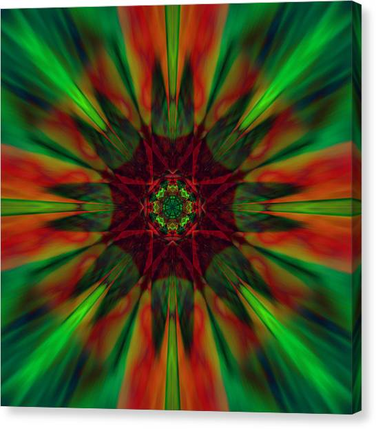 New Life Ablaze Canvas Print