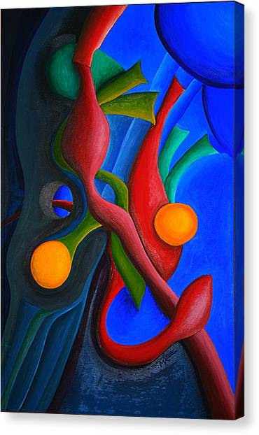 New Life Form Canvas Print by Michael C Crane