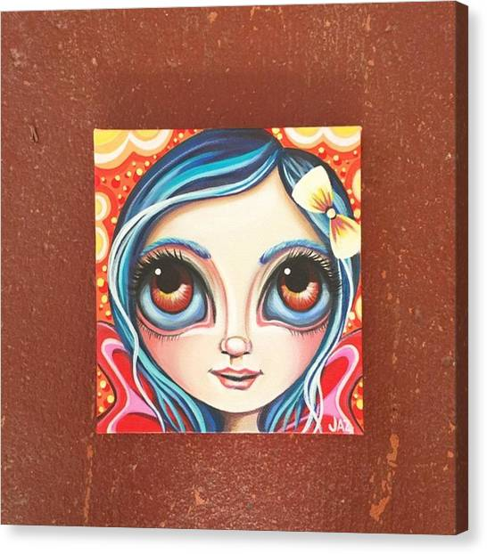 Fantasy Canvas Print - New Little Fairy! Not Sure What To Name by Jaz Higgins