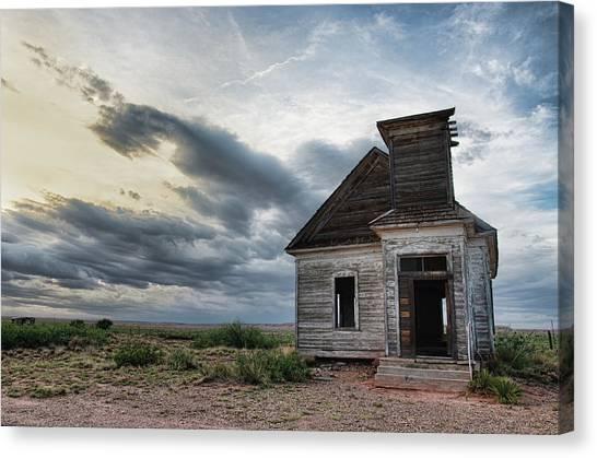New Mexico Church # 2 Canvas Print