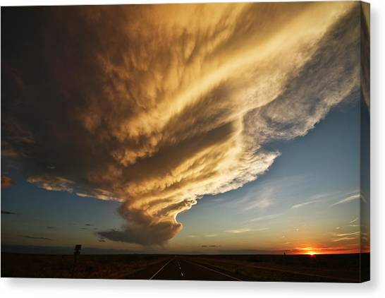New Mexico Structure Canvas Print