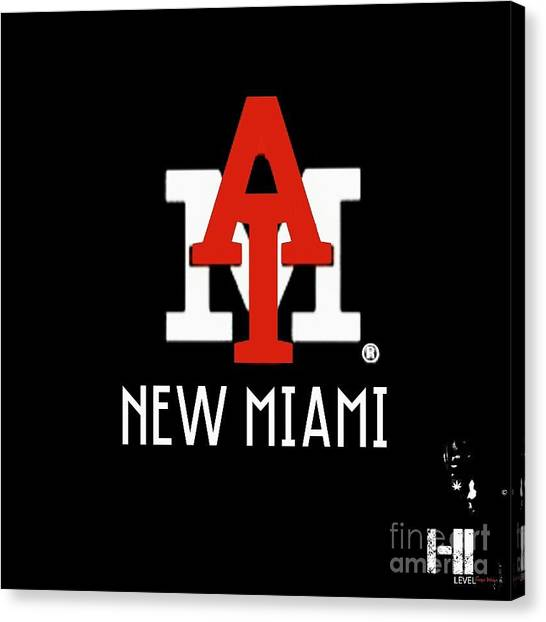 Taylor Swift Canvas Print - New Miami Red by HI Level