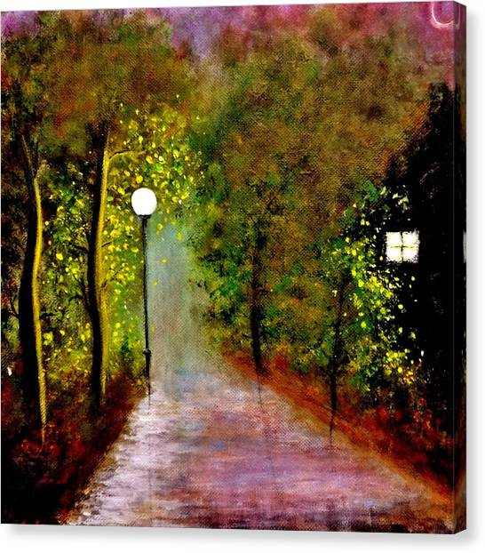 New Moon... Canvas Print