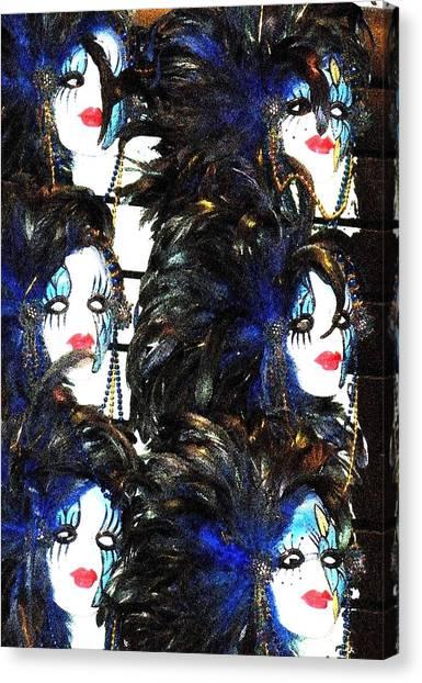 New Orleans Masks Canvas Print