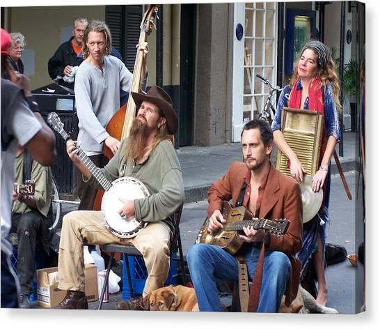 New Orleans Musicians Canvas Print
