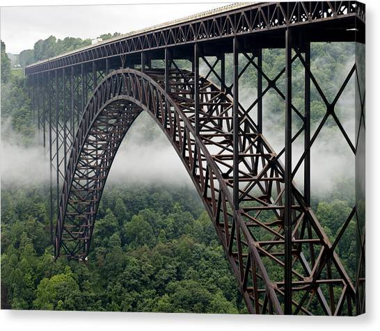 New River Gorge Bridge West Virginia Canvas Print