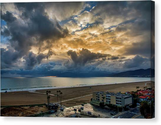 New Sky After The Rain Canvas Print
