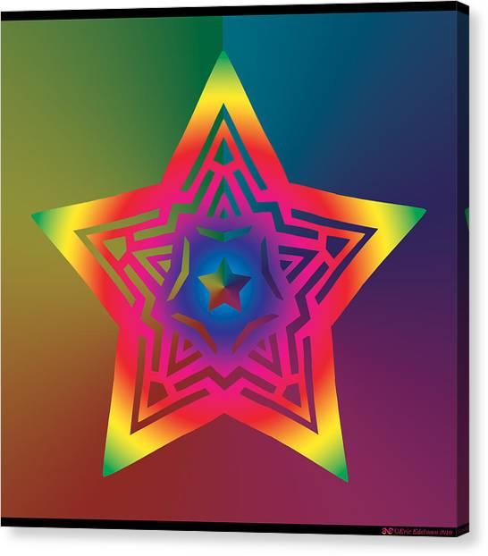 New Star 1a Canvas Print