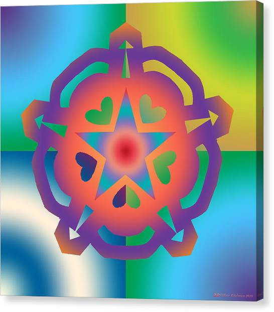 New Star 6a Canvas Print