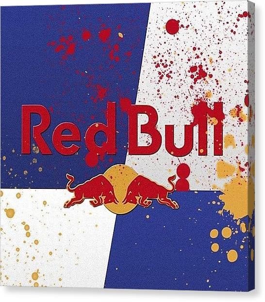 Drinks Canvas Print - New Wallpaper :) #redbull #wallpapershd by Andy Brown