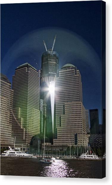 Terrorist Canvas Print - New World Trade Center by David Smith
