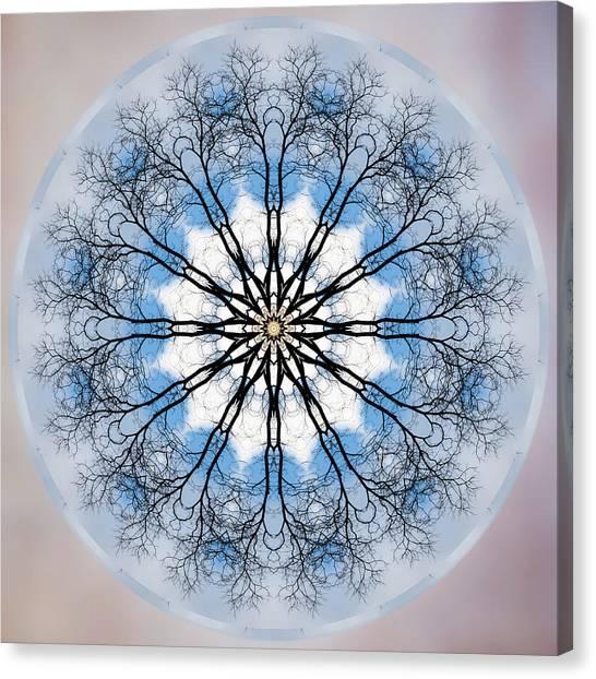 New Year Mandala - Canvas Print