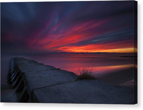 New Years Morning Canvas Print