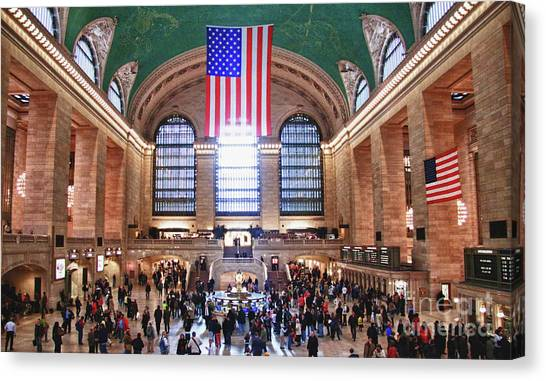 New York - Grand Central Terminal Canvas Print