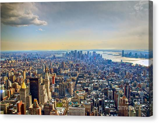 New York City - Manhattan Canvas Print