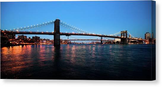 New York City Bridges Canvas Print