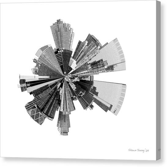 New York City Lily Canvas Print by Shawn Young
