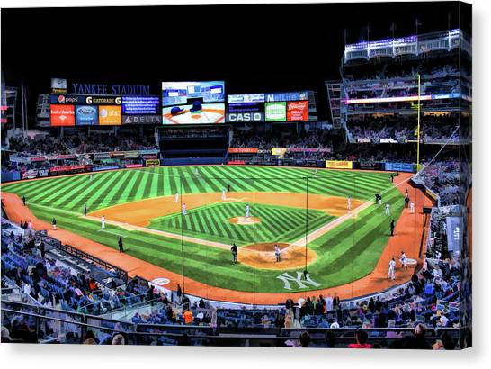 New York City Yankee Stadium Canvas Print