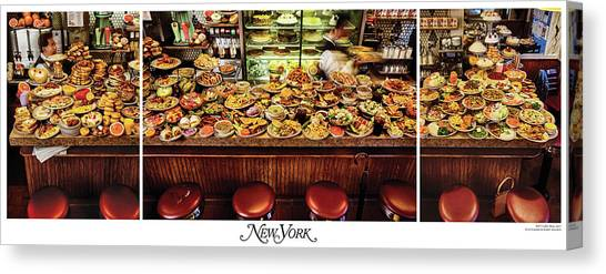 The New York Diner Canvas Print