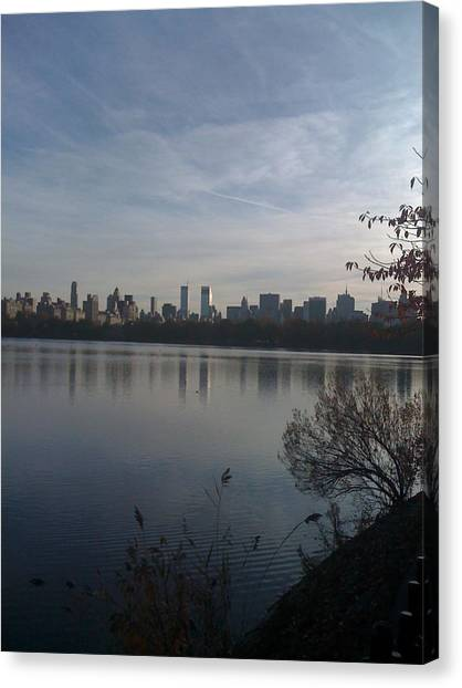 New York Is Beautiful Canvas Print by Wendy Uvino