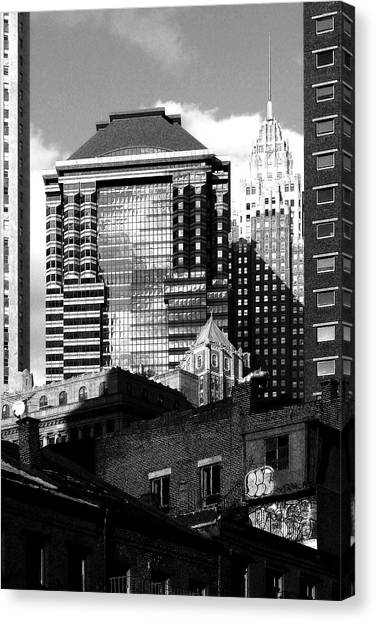 New York Jazz Canvas Print