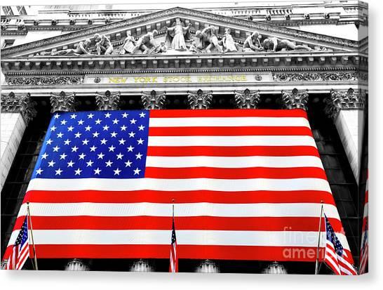 New York Stock Exchange 2006 Canvas Print